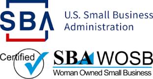 logo 2021 SBA admin certified wosb