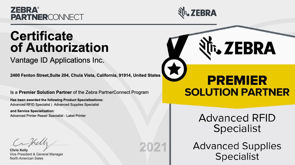 Premier Solution Partner Certification and badge